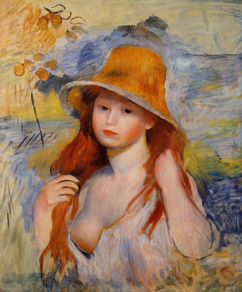 Картина Маленькая Обнаженная Девочка